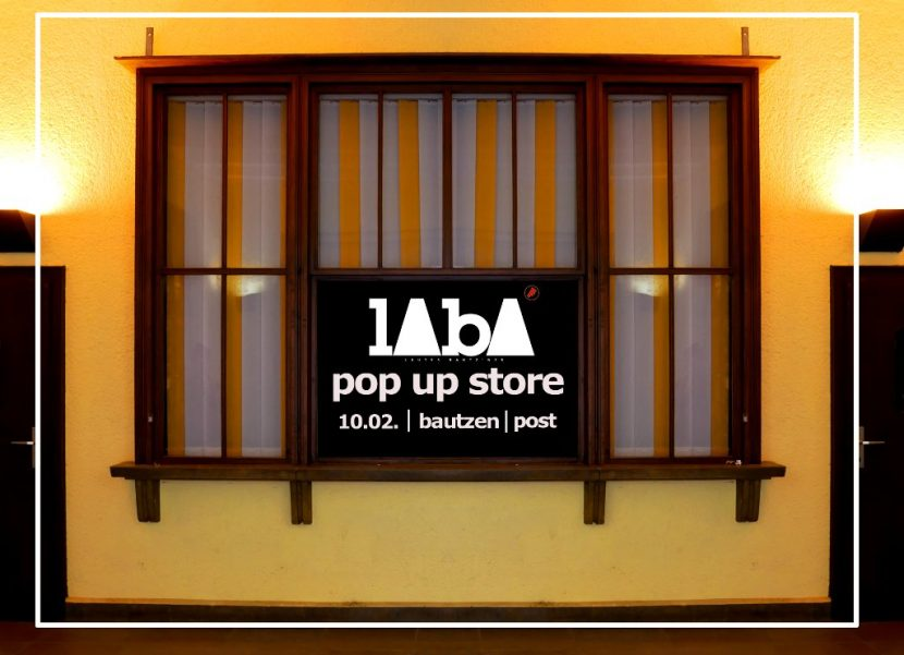 LABA Pop Up Store Bautzen